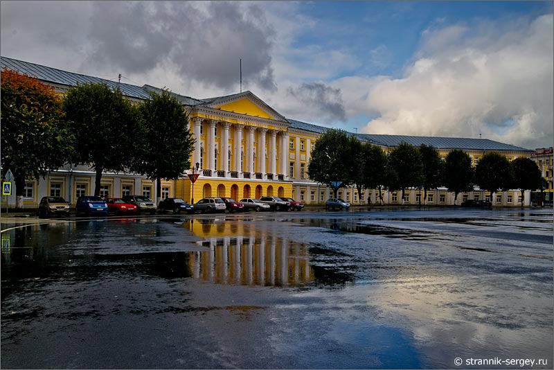 Старый город Ярославль дух Великого Новгорода