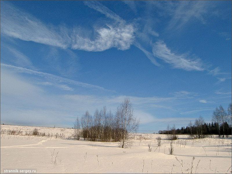 Лыжные походы по Подмосковью - окрестности Лесодолгоруково