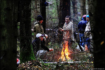 Пеший поход: пл. 73 км - Троице-Чижи - Власово - ст. Фрязево