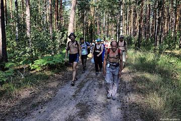 Пеший поход: пл. Воиново - Дубровка - берегом Клязьмы - Нов. Перепечино - пл. Омутище