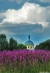 Дерюзино церковь Николая Чудотворца