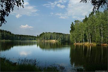 Озеро Лесное Торгоша