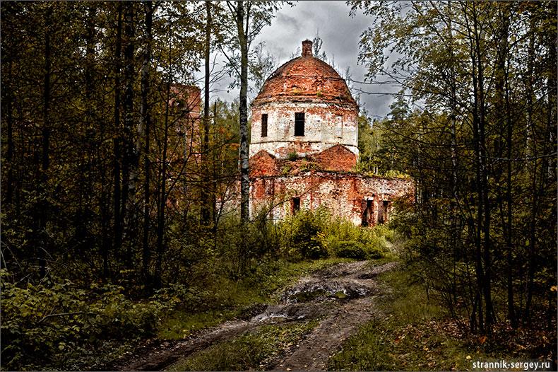 церковь Рождества Богородицы - церковь Никольская Николо-Пустопольского погоста