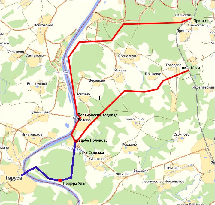 Маршрут GPS - сайт группы