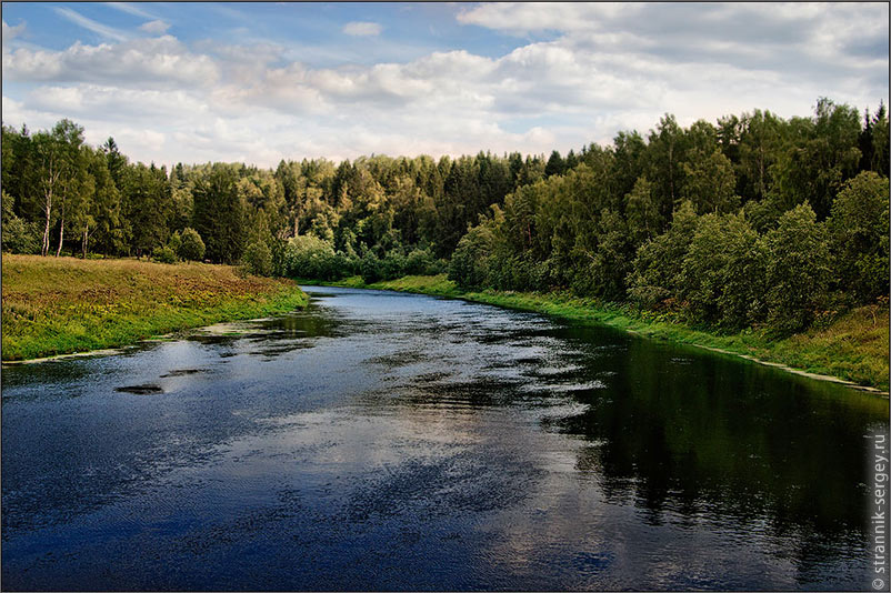 Русская природа вода