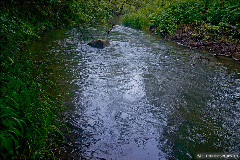 Русская природа - река Молодильня