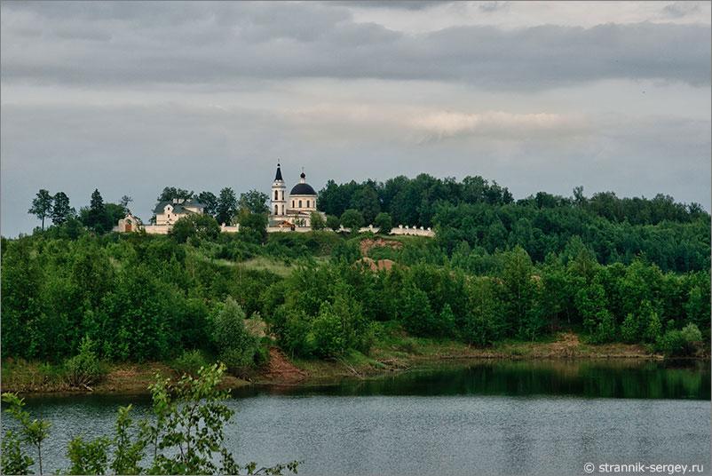 Русская природа - церковь
