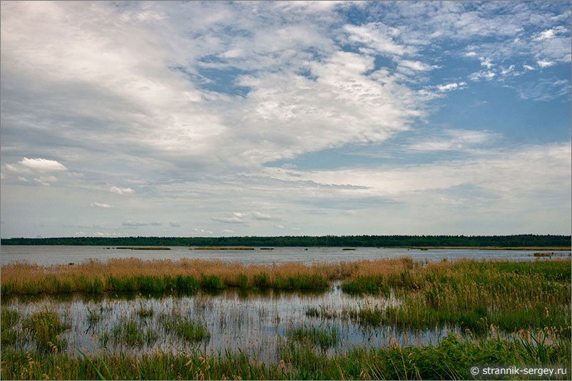 Русская природа - озера