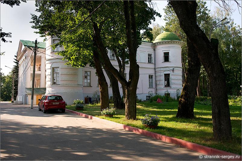 усадьба Поливаново усадебный дом дворец парк