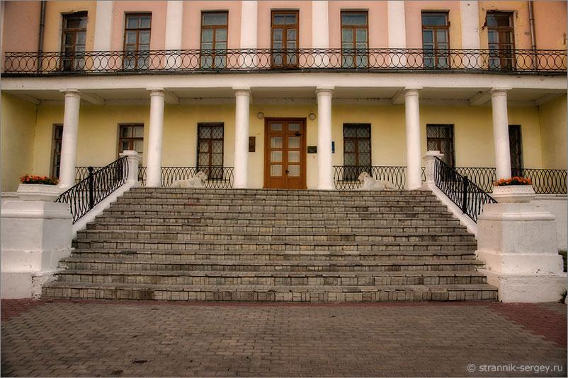 усадьба Дубровицы усадебный дом дворец эпоха классицизма