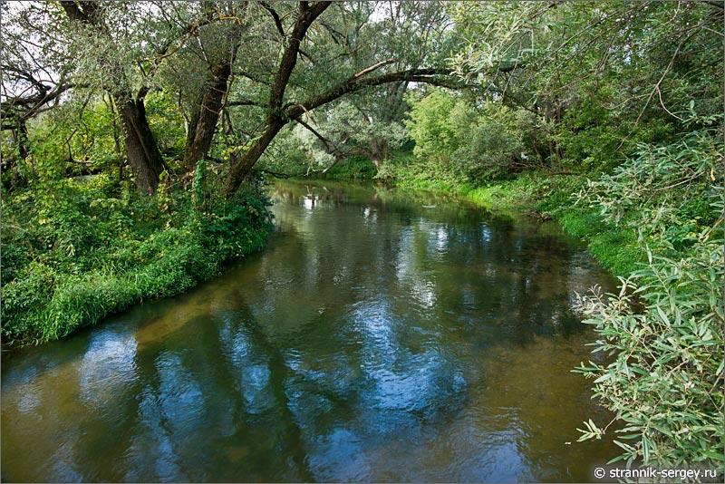Село Турово река Лопасня