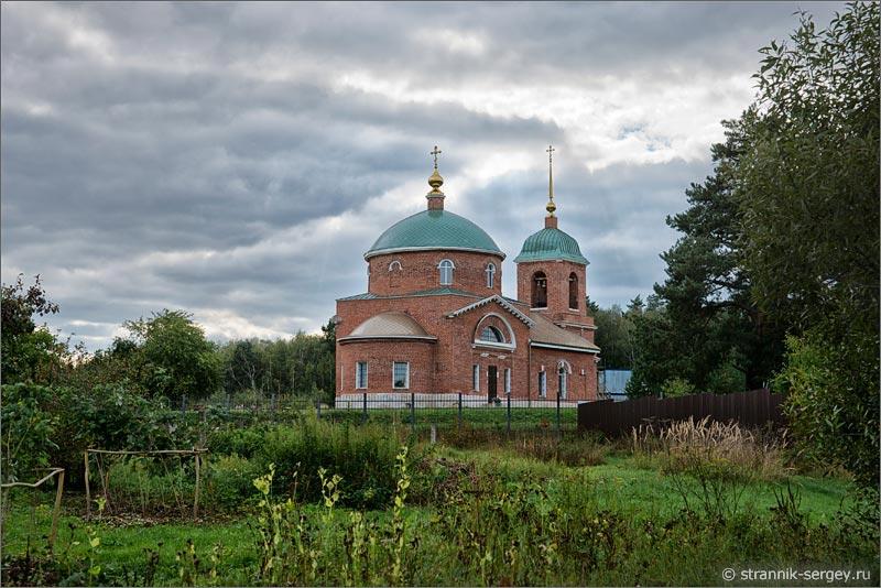 село Енино Борисо-Глебскую церковь