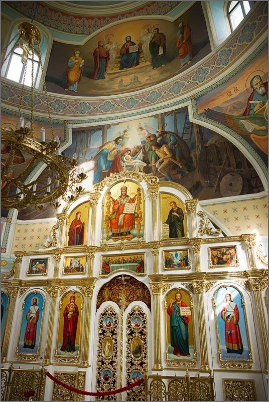Реставрация икон настенных росписей фресок