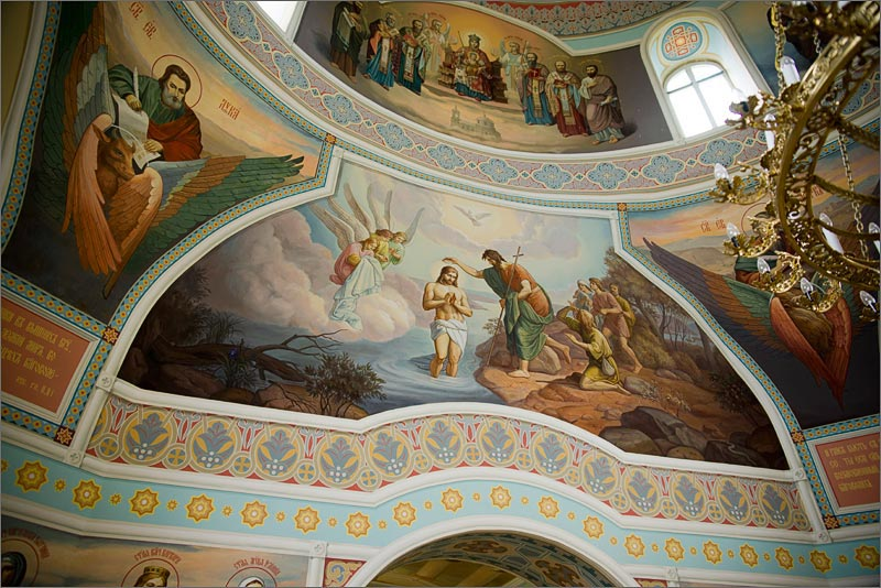 храма Бориса и Глеба фрески