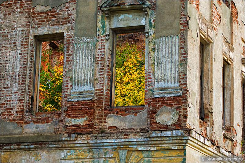 Старый дворец — усадьба князя Вяземского в Пущино-на-Наре