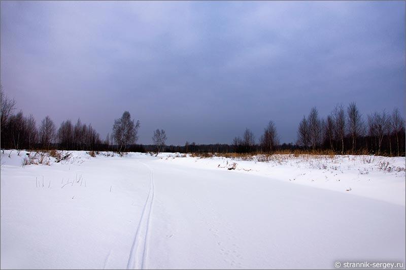 Места силы - река Нерская