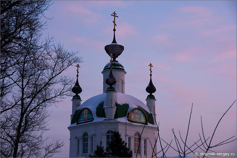 Место силы - церкви Троицы Живоначальной в селе Хотеичи