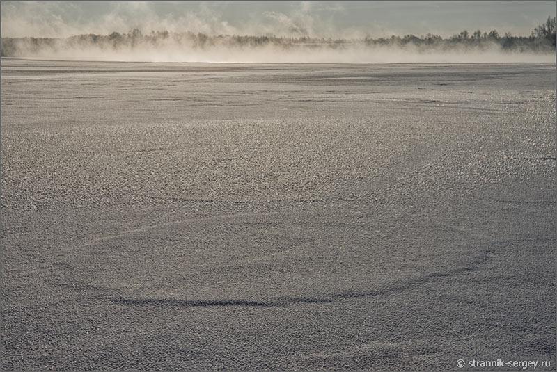 Зима мороз солнце иней озеро Святое