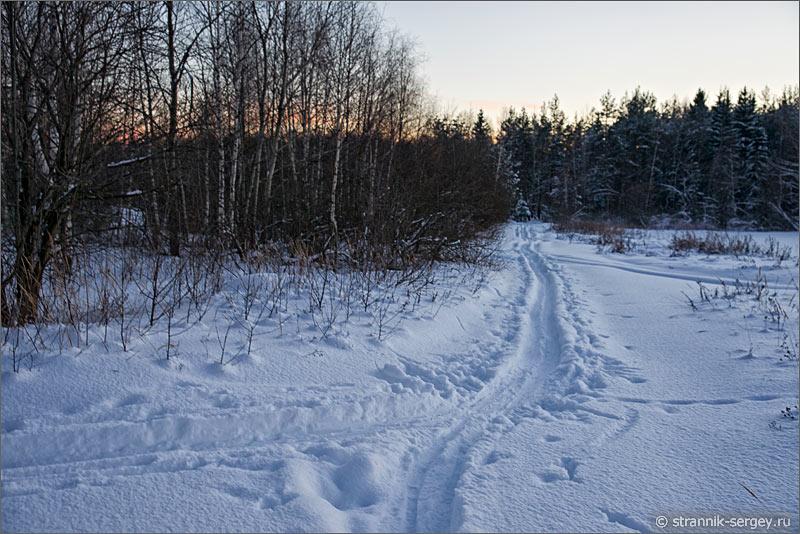 Зима полнолуние