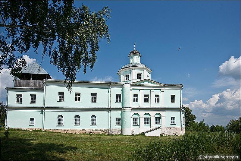Храм Сергия Радонежского в селе Горы