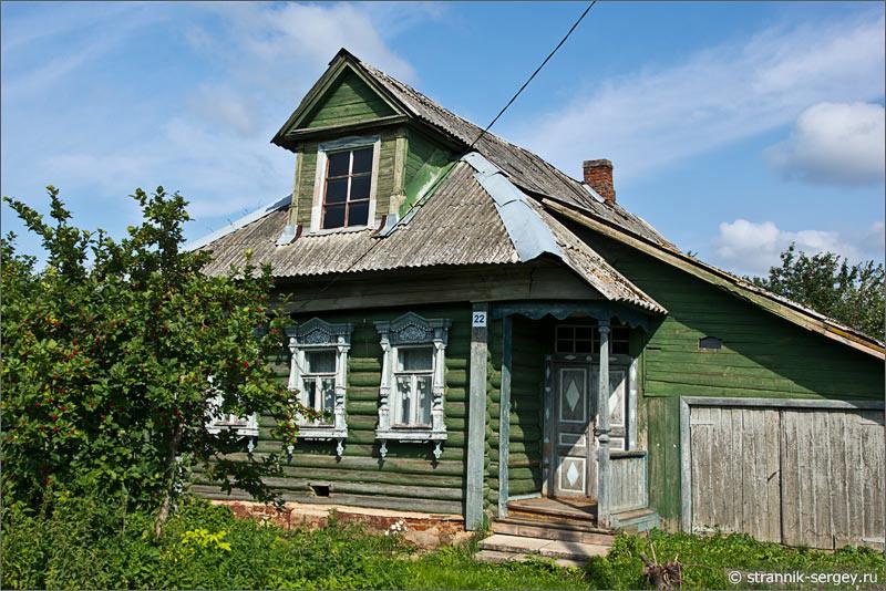 Деревенские дома дизайн фото