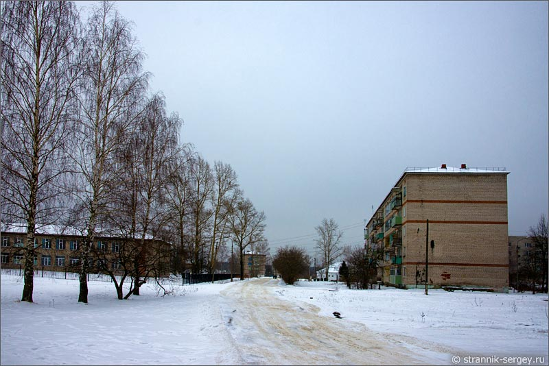 поселок Бакшеево