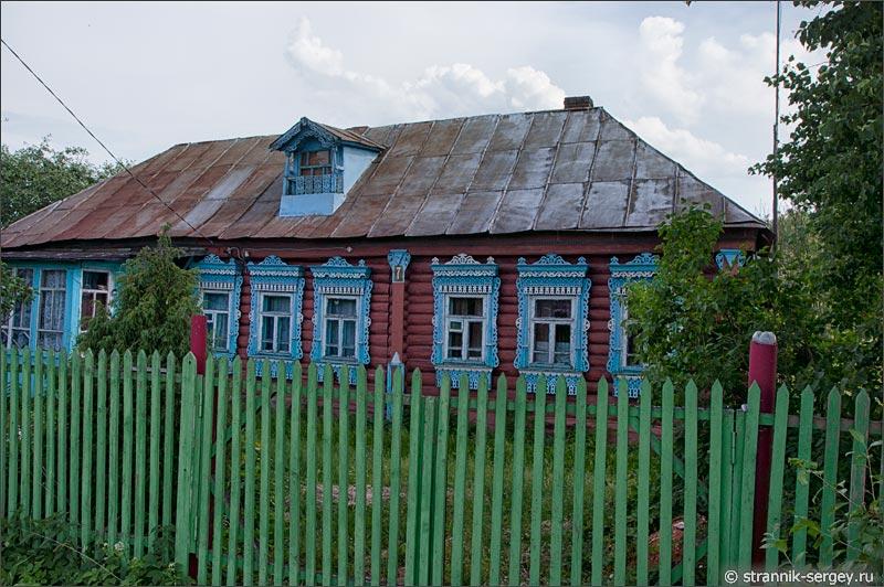 Деревня Лапино у Протвы