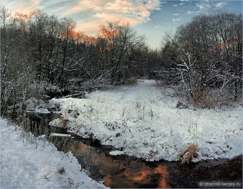 Рождественская история - снег