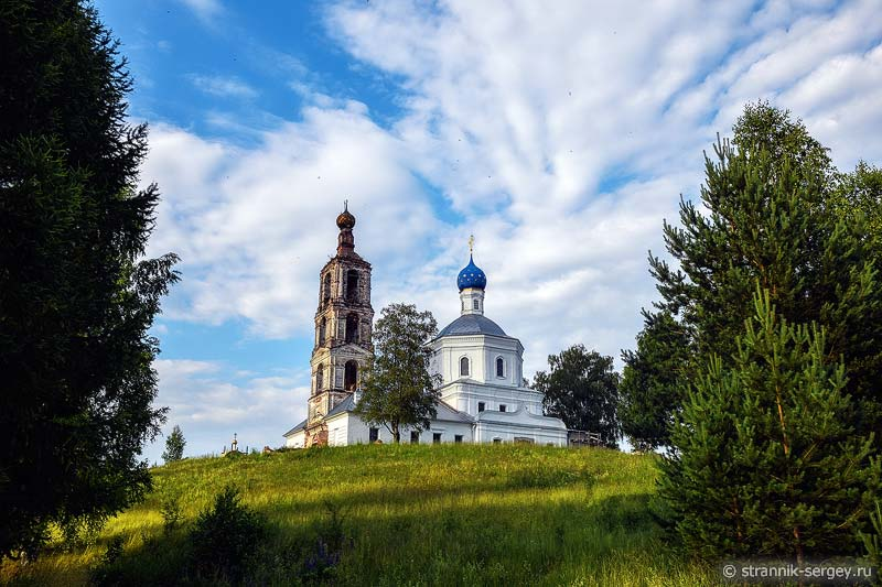 церковь Рождества Пресвятой Богородицы в селе Пречистове на реке Нерли Клязьминской
