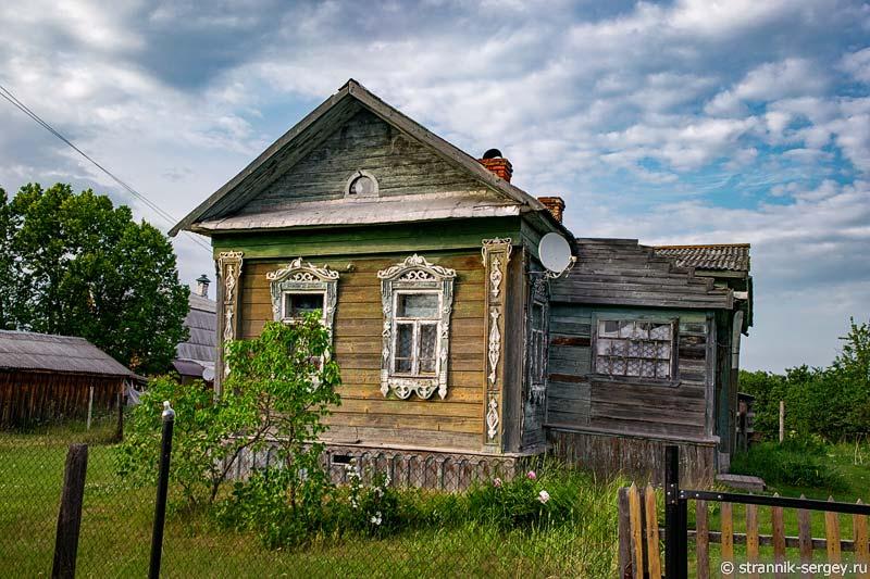 Село Пречистое на реке Нерли Клязьменской