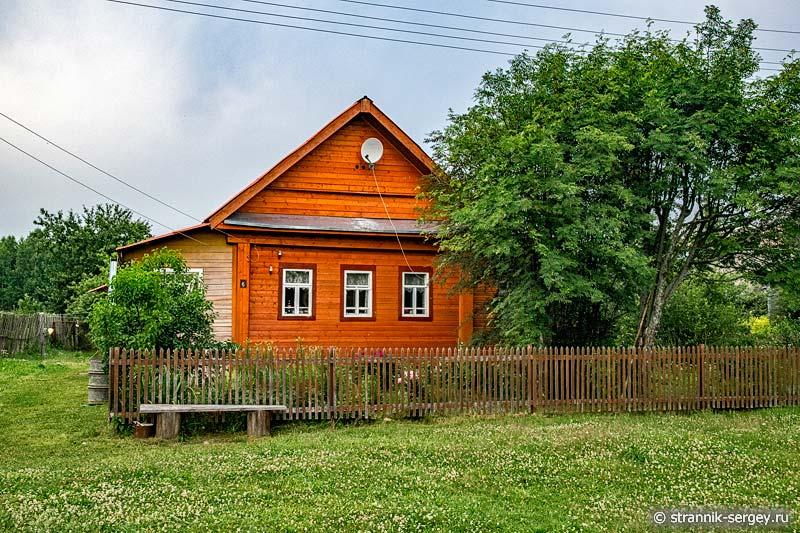 Деревня Остеево