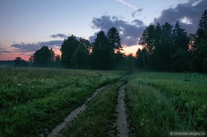 Бабья гора на реке Нерль Клязьминская