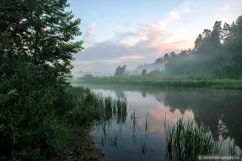 Рассвет на реке Нерль Клязьминская