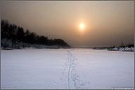 Лыжный поход выходного дня - Трофимово